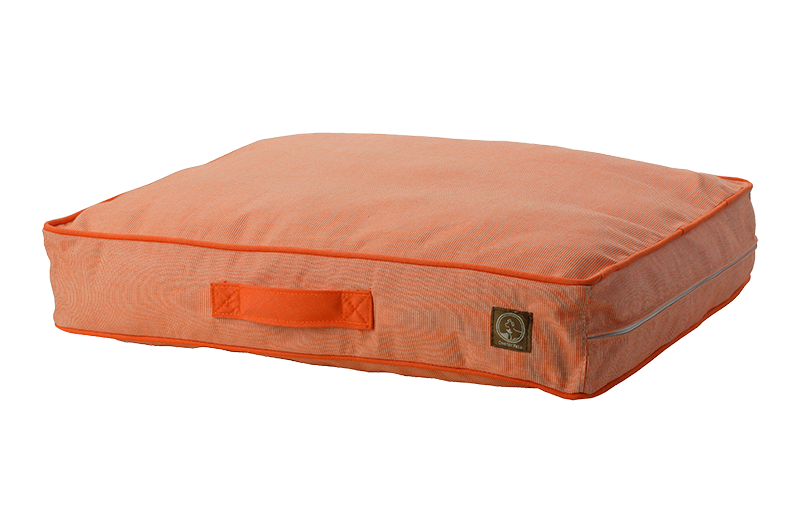 "One for Pets - Siesta Spanish Indoor / Outdoor Bed - Orange - 27"" x 36"" x 5"""
