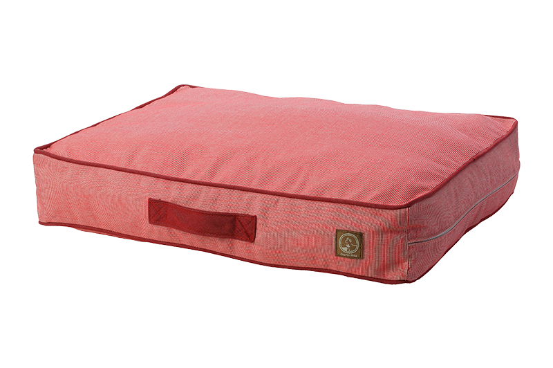 "One for Pets - Siesta Spanish Indoor / Outdoor Bed - Red - 34"" x 45"" x 5"" - L - PetProject.HK"