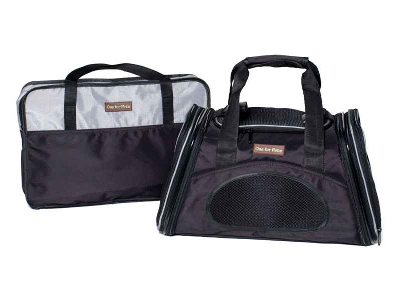 "One for Pets - The One Expandable Bag - Black - 19"" x 11.5"" x 11.5""(L) - PetProject.HK"