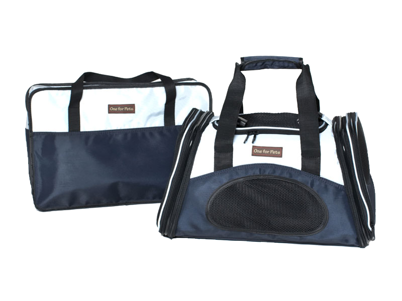"One for Pets - The One Expandable Bag - Navy - 19"" x 11.5"" x 11.5"""