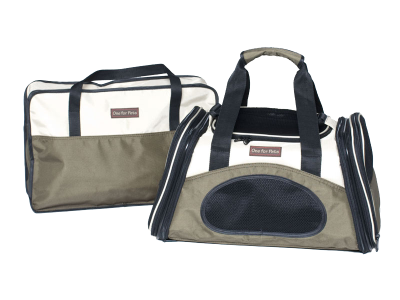 "One for Pets - The One Expandable Bag - Olive - 16"" x 9"" x 9""(S) - PetProject.HK"