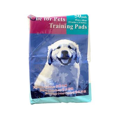One for Pets - Training Pad - 45*60CM - 50PADS - PetProject.HK