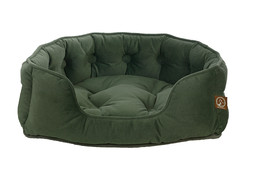 "One for Pets - Faux Suede Snuggle Bed - Vienna Harbor - 25"" x 21"" x 6""(L) - PetProject.HK"
