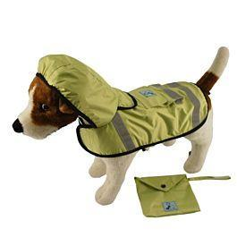 "One for Pets - Safety Hooded Raincoats - Spring (12"") - PetProject.HK"