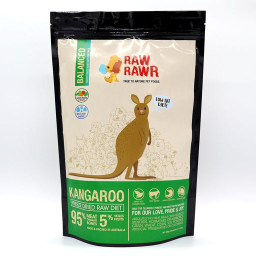 Raw Rawr - Freeze Dried Dog Food - Kangaroo - 400G