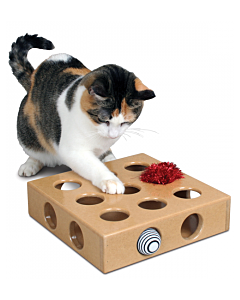 "Smartcat - Peek a Prize Toy Box (Large - 14"" x 14"" x 3"") - PetProject.HK"