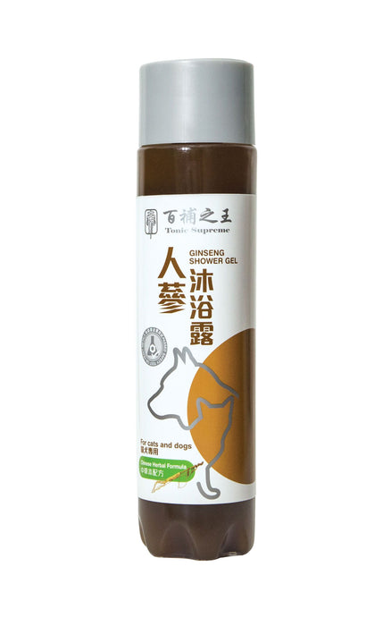 Tonic Supreme - Ginseng Shower Gel - PetProject.HK