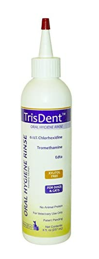TrisDent - Dental Water Additive Oral Hygiene Rinse - 8OZ - PetProject.HK