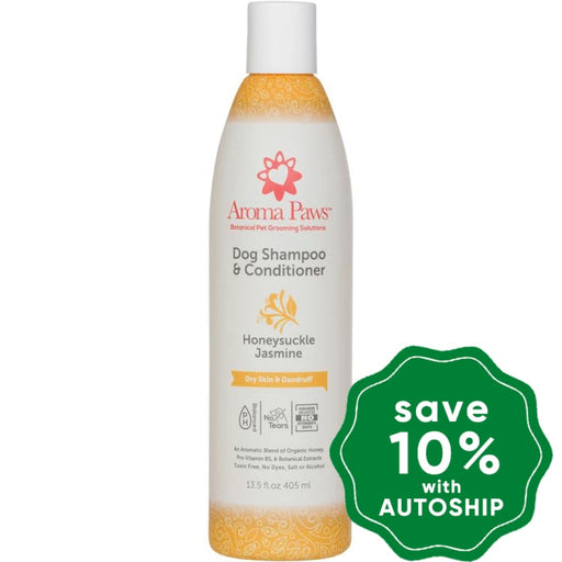 Aroma Paws - Dog Shampoo & Conditioner - Honeysuckle Jasmine - 13.5OZ - PetProject.HK