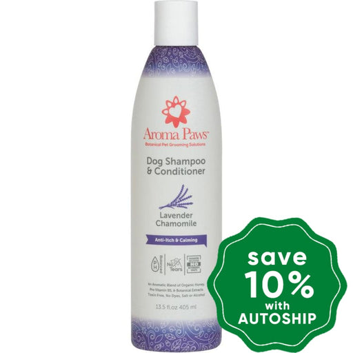 Aroma Paws - Dog Shampoo & Conditioner - Lavender Chamomile - 13.5OZ - PetProject.HK