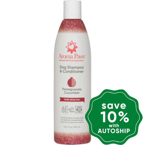 Aroma Paws - Dog Shampoo & Conditioner - Pomegranate Cucumber - 13.5OZ - PetProject.HK