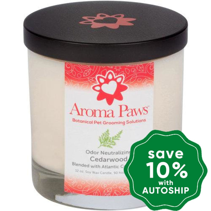Aroma Paws - Odor Neutralizing Candle - Cedarwood - 12OZ - PetProject.HK