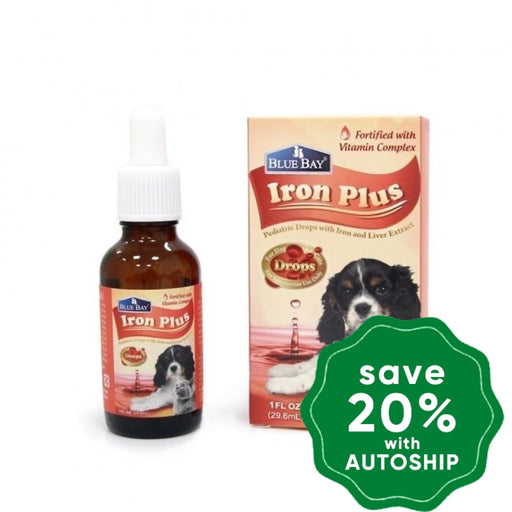 Blue Bay - Iron Plus Drops - 30ML - PetProject.HK