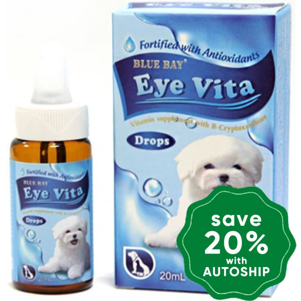 Blue Bay - Vita Eye Drops - 20ML - PetProject.HK
