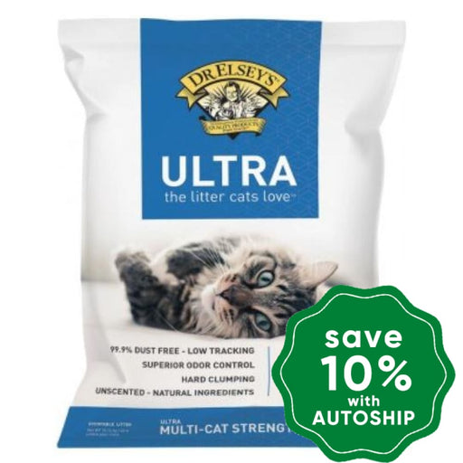 Dr. Elsey's - Precious Cat Ultra Scoop Litter - 18LB - PetProject.HK