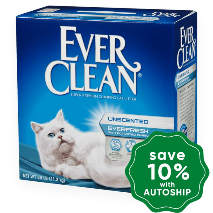 Ever Clean - Ever Fresh Unscented (Activated Charcoal) - 25LB - PetProject.HK