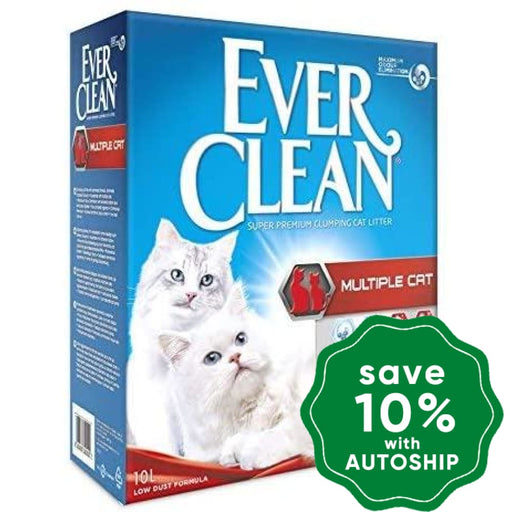 Ever Clean - Multiple Cat Litter 10L (Europe Version) Cats