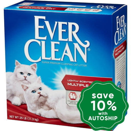 Ever Clean - Multiple Cat Litter - 25LB - PetProject.HK