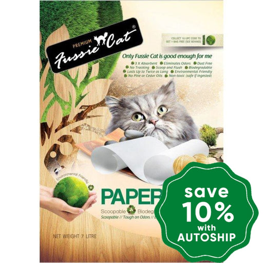 Fussie Cat Litter - Paper - 7L - PetProject.HK
