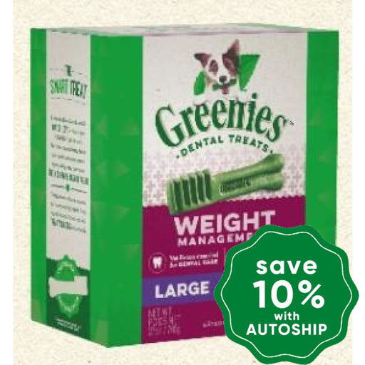 Greenies - Weight Management Large 27Oz Dogs