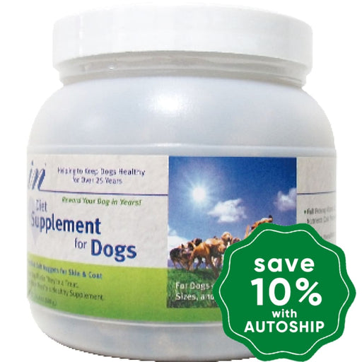 In - Daily Supplement For Dogs Skin & Immune Health Chicken Favor 1.5Lb (Min. 6 Bottles)