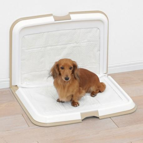 IRIS - Foldable Dog Toilet - Lite Blue (L) - PetProject.HK