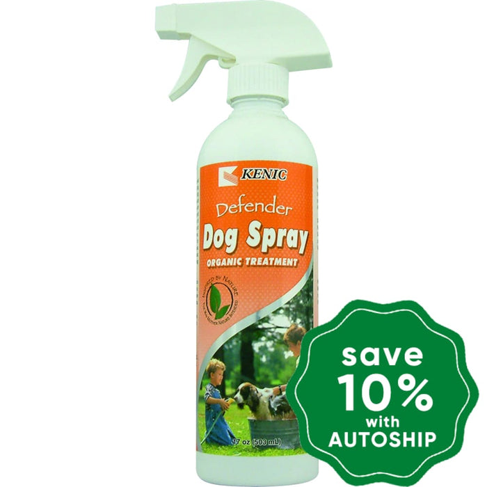 Kenic - Defender Organic Dog Spray - 8OZ - PetProject.HK