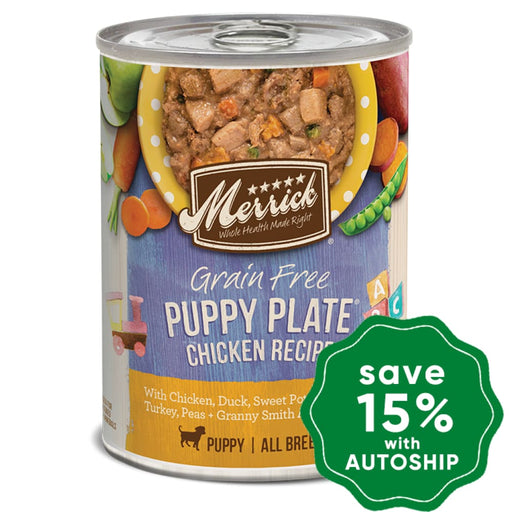 Merrick - Grain Free Canned Dog Food - Puppy Plate Chicken - 12.7OZ - PetProject.HK
