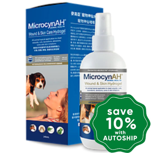 MicrocynAH - Wound & Skin Care Hydrogel - 8OZ - PetProject.HK
