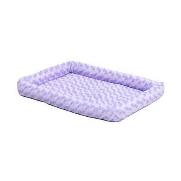 Midwest - Quiet Time Fashion Pet Bed - Purple (L) - PetProject.HK