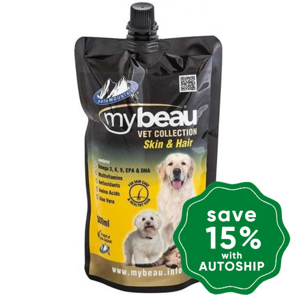 My Beau - Skin & Hair Jelly Supplement for Dogs & Cats - 300ml - PetProject.HK