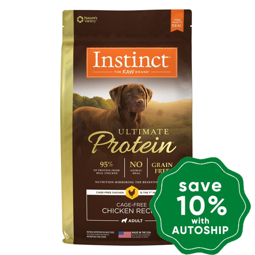 Nature's Variety Instinct - Dog Dry Food - Ultimate Protein Cage-Free Chicken - 4LB - PetProject.HK