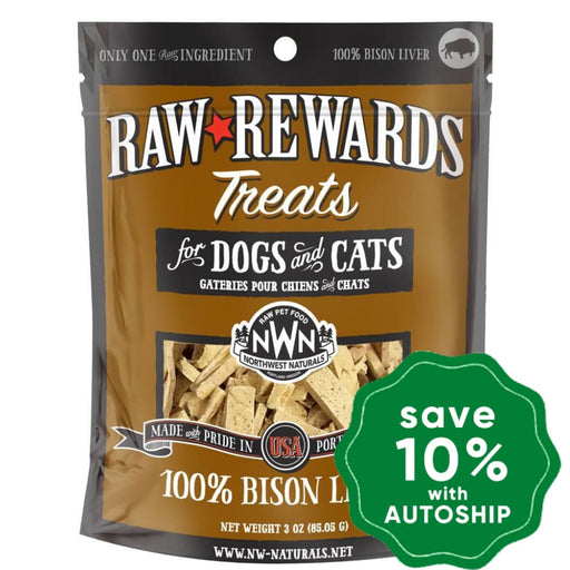 Northwest Naturals - Freeze-Dried Cat & Dog Treats - Bison Liver - 85G - PetProject.HK