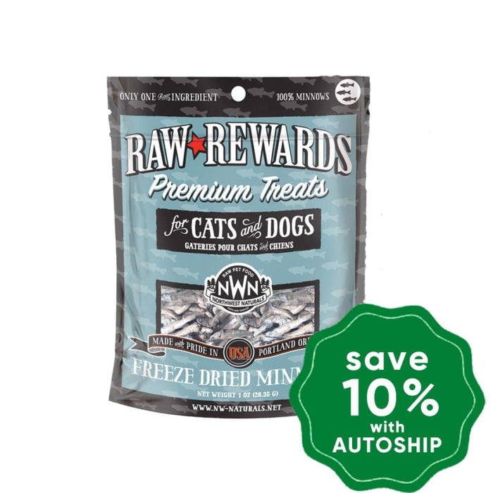 Northwest Naturals - Freeze-Dried Cat & Dog Treats - Minnows - 1OZ - PetProject.HK