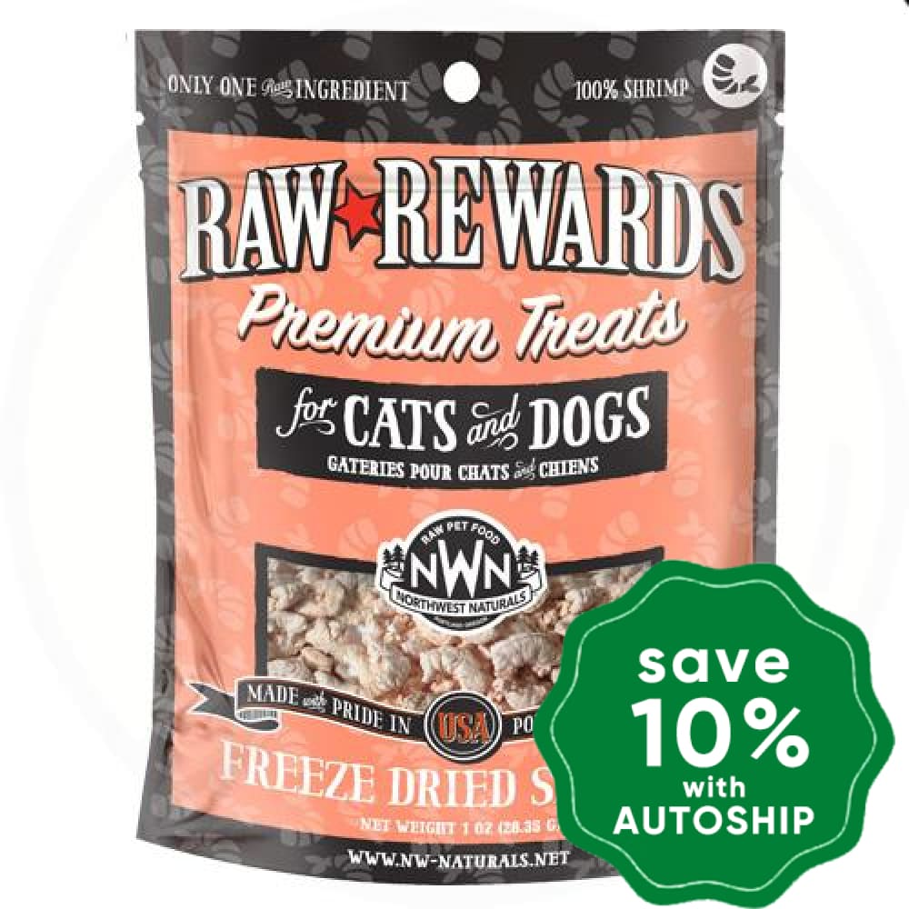 Northwest Naturals - Freeze-Dried Cat & Dog Treats - Shrimp - 1OZ - PetProject.HK