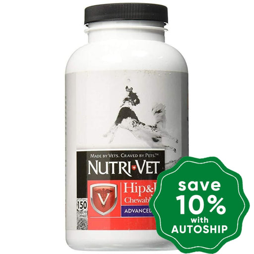 Nutri-Vet Level 3 - Hip & Joint Advanced Care with Previous Injury or Over 7 Years - 150CT - PetProject.HK