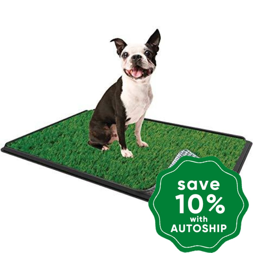 "PoochPad - Indoor Turf Dog Potty PLUS - Small 18"" x 18"" - PetProject.HK"