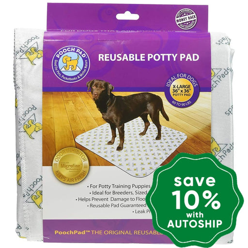 "PoochPad - Reusable Housebreaking Pads - Extra Large 36"" x 36"" - Single Pack - PetProject.HK"