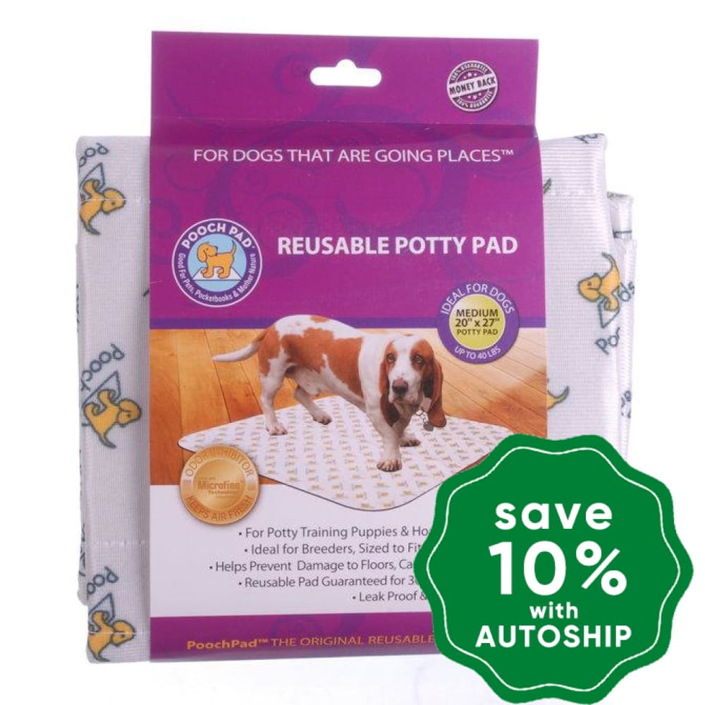 "PoochPad - Reusable Housebreaking Pads - Medium 20"" x 27"" - Single Pack - PetProject.HK"