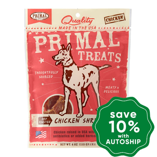 Primal - Treats - Dry Roasted Chicken Shredders - 4OZ - PetProject.HK