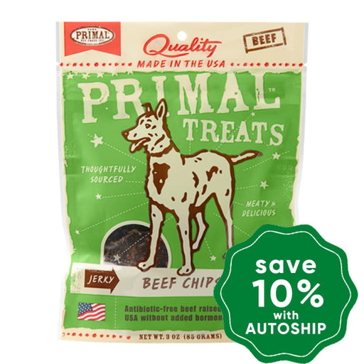 Primal - Treats - Jerky Beef Chips - 3OZ - PetProject.HK