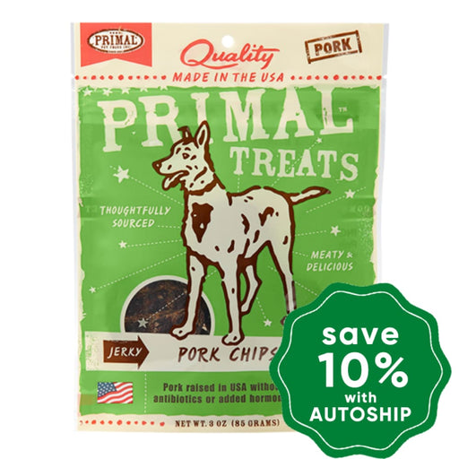 Primal - Treats - Jerky Pork Chips - 3OZ - PetProject.HK