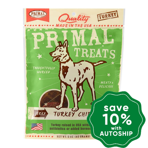 Primal - Treats - Jerky Turkey Chips - 3OZ - PetProject.HK