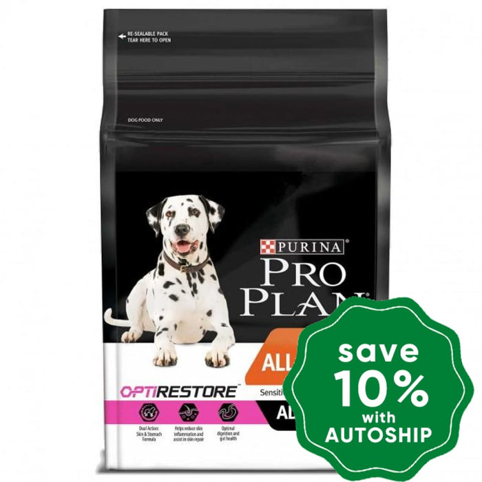 Purina - Pro Plan - All Size Adult Sensitive Skin & Stomach OptiRestore Dry Dog Food - Salmon - 12KG - PetProject.HK