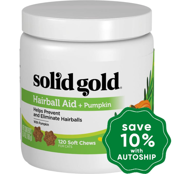 Solid Gold - Cat Supplements - Hairball Aid Chews - 6.4OZ - PetProject.HK