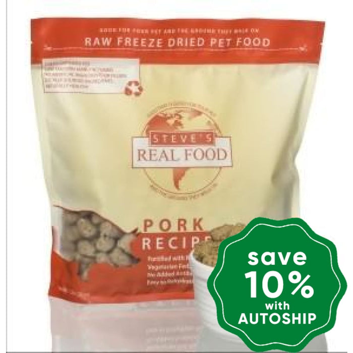 Steve's - Pork Diet Freeze Dried Nuggets (For Cats & Dogs) - 1.25LB - PetProject.HK