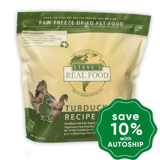 Steve's - Turducken Diet Freeze Dried Nuggets (For Cats & Dogs) - 1.25LB - PetProject.HK
