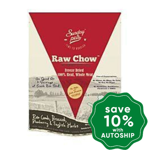 Sunday Pets - Dogs & Puppies Food - Raw Chow Freeze Dried Lamb - 1LB - PetProject.HK