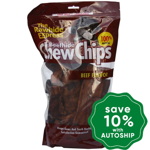 The Rawhide Express - Chew Chips - Beef - 450G - PetProject.HK