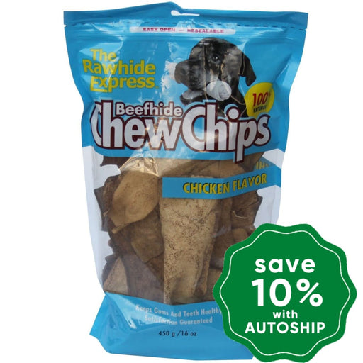 The Rawhide Express - Chew Chips - Chicken - 450G - PetProject.HK